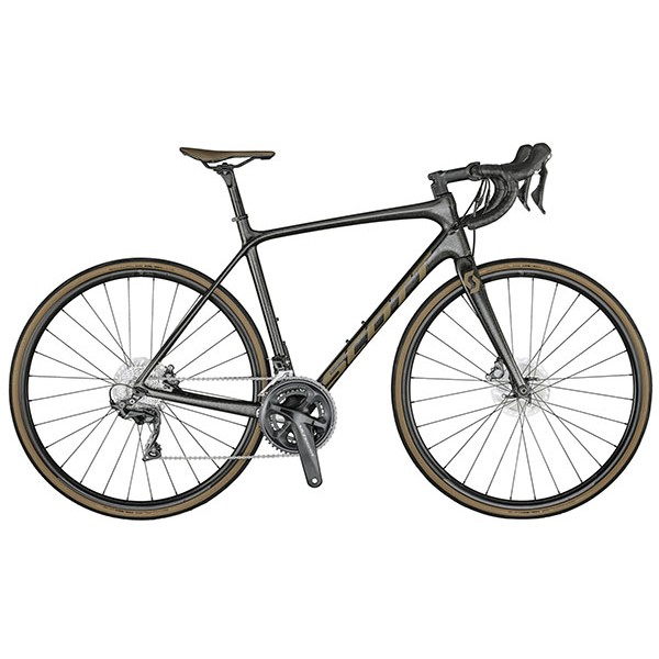 SCOTT ADDICT 10 DISC CARBON ONYX BLACK BIKE