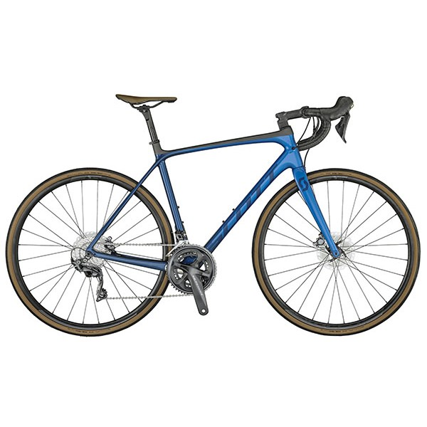 SCOTT ADDICT 10 DISC MARINE BLUE BIKE