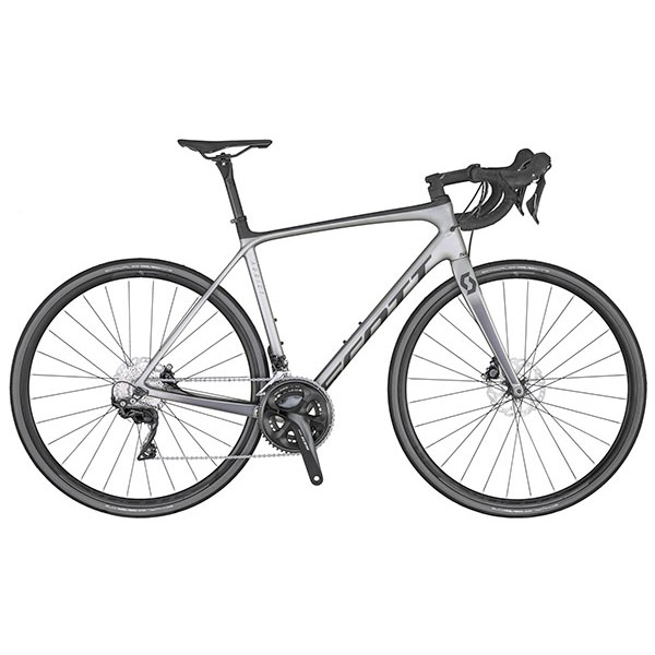 SCOTT ADDICT 20 DISC GREY BIKE
