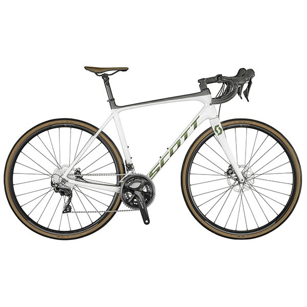 SCOTT ADDICT 20 DISC PEARL WHITE BIKE