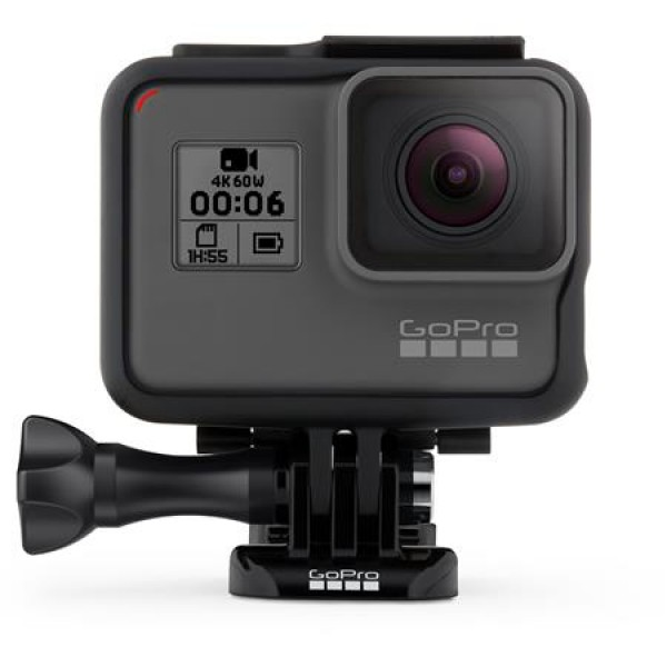 GoPro HERO6 Black - Bundle with Froggi Extreme Sport Kit, and 32GB Memory Card