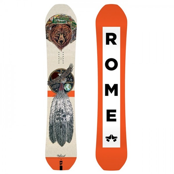 Rome National Bjorn Snowboard 2019