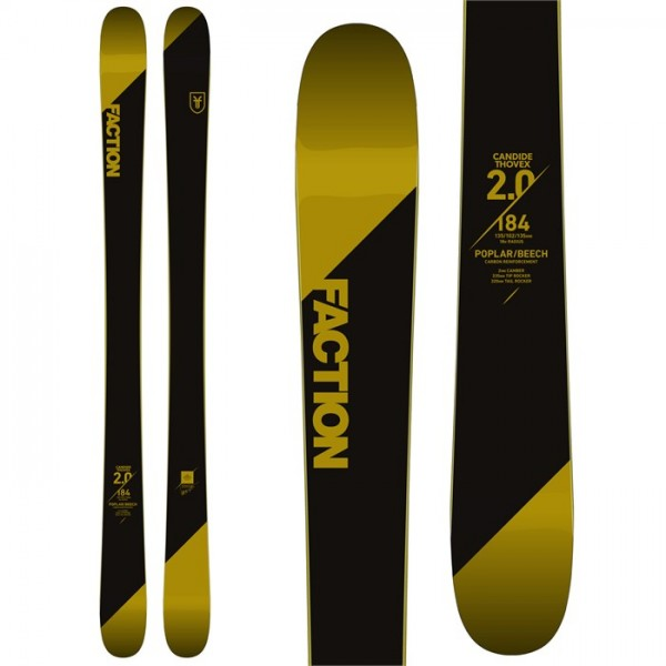 Faction Candide 2.0 Skis 2018
