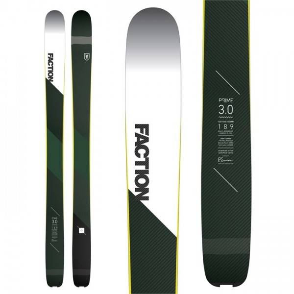 Faction Prime 3.0 Skis 2018
