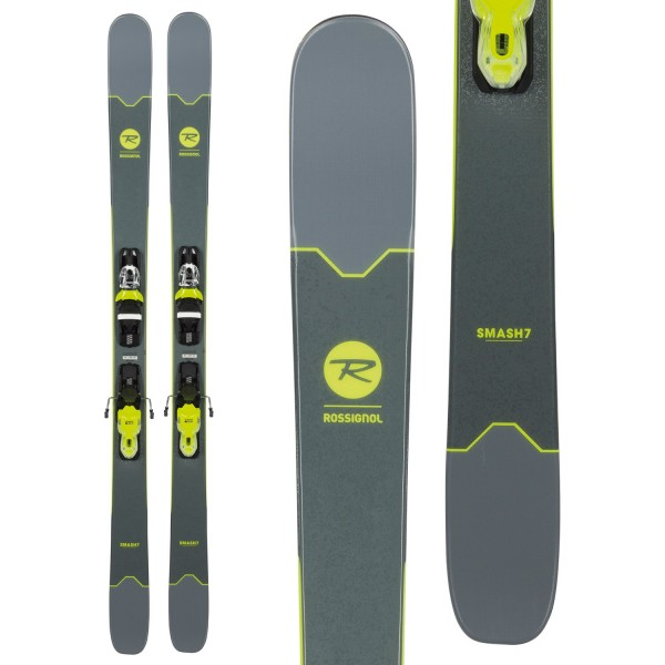 Rossignol Smash 7 Skis ​+ Xpress 10 Bindings 2019