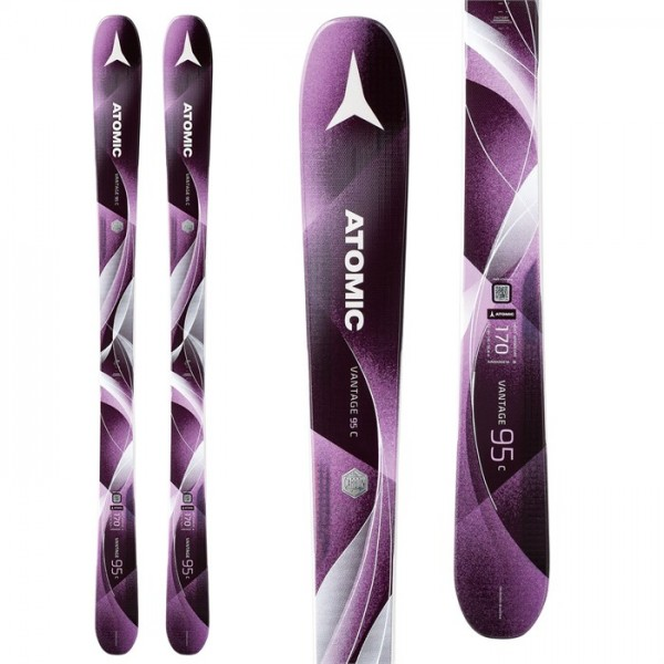 Atomic Vantage 95 C W Skis - Women's 2018