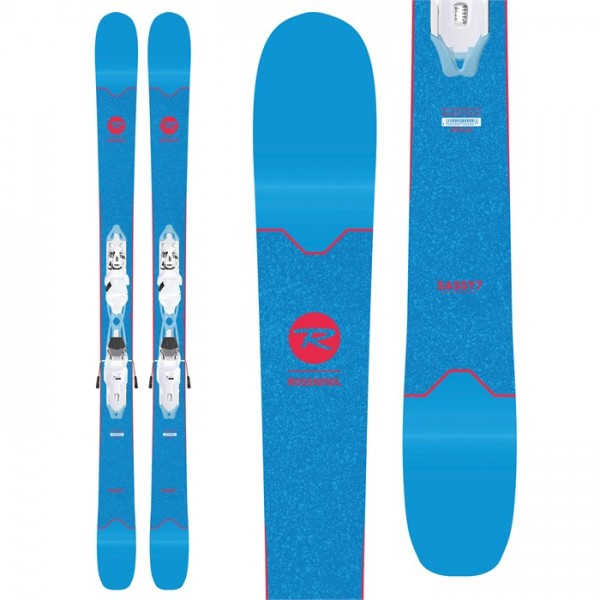 Rossignol Sassy 7 Skis ​+ Xpress 10 Bindings - Women's 2019