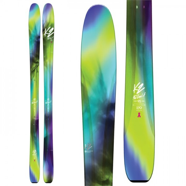 K2 FulLUVit 95 Skis - Women's 2018
