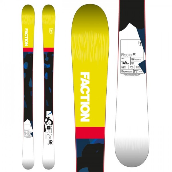 Faction Prodigy Jr. Skis - Boys' 2018