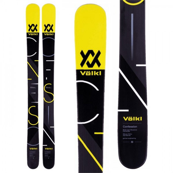 Volkl Confession Jr Skis - Boys' 2018