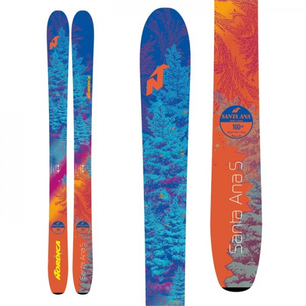 Nordica Santa Ana S Skis - Girls' 2019