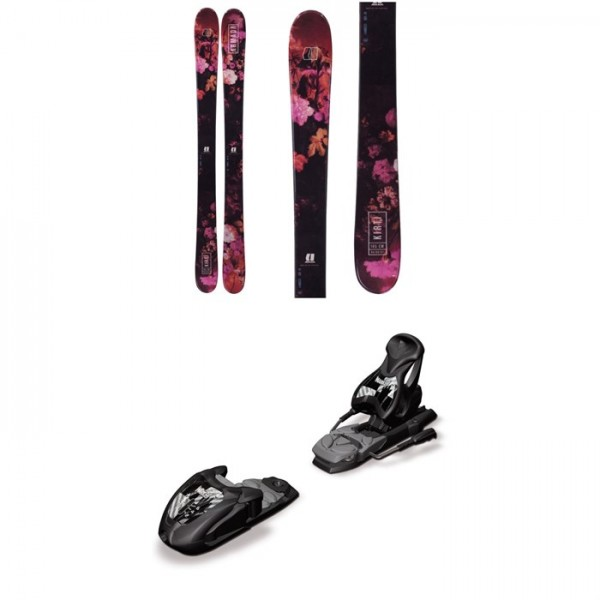 Armada Kirti Skis - Girls' 2018 ​+ Marker M7.0 Free Ski Bindings - Big Kids' 2017