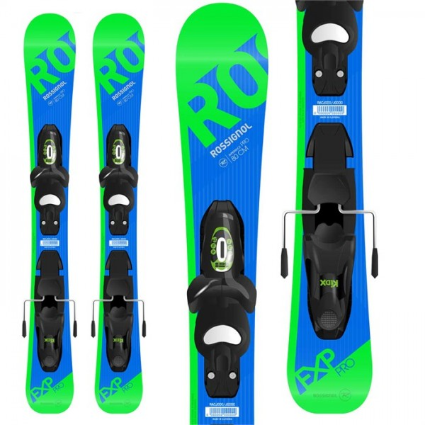 Rossignol Experience Pro Skis ​+ Kid X 4 Bindings - Little Boys' 2018